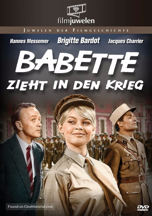 Babette s'en va-t-en guerre - German DVD movie cover