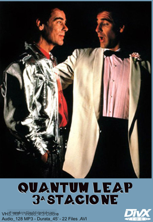 """""""Quantum Leap"""" - Italian Movie Cover"""