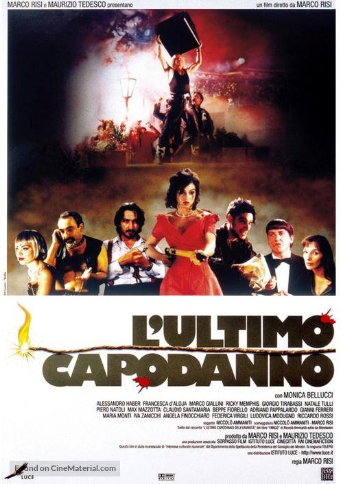 L'ultimo capodanno - Italian Movie Poster