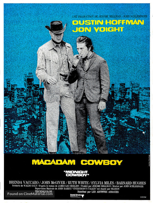 Midnight Cowboy - French Movie Poster