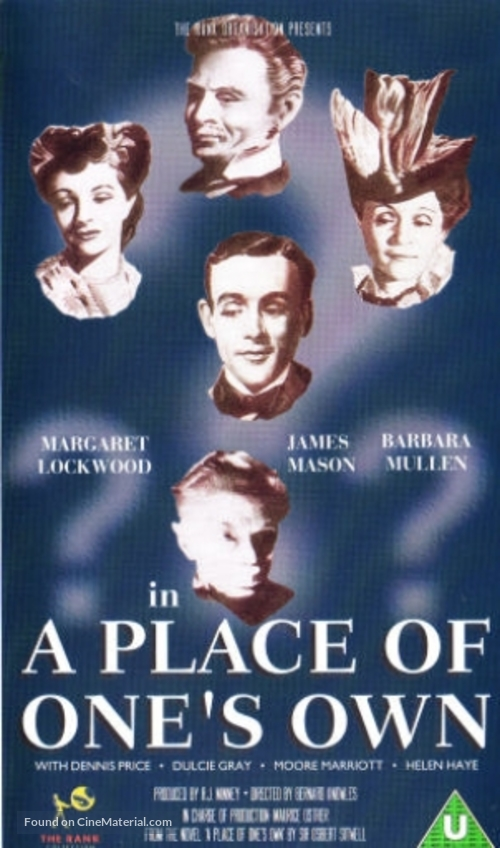A Place of One's Own - British VHS movie cover