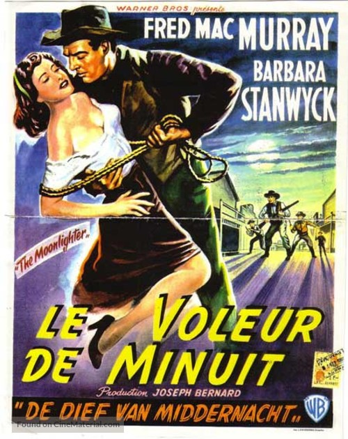 The Moonlighter - Belgian Movie Poster