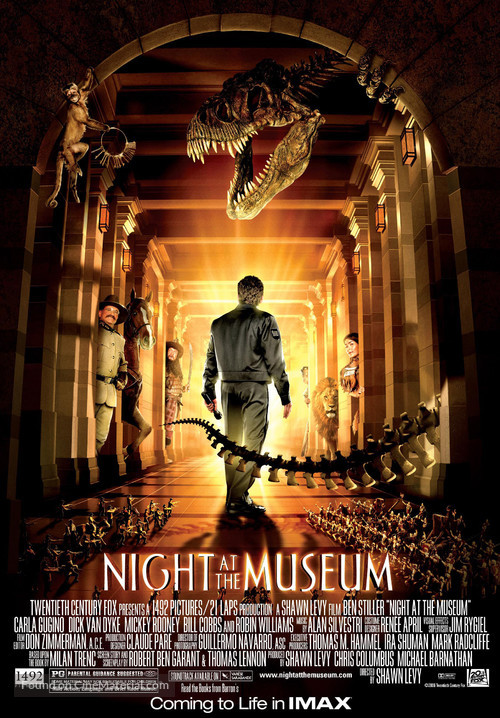 Night at the Museum - Movie Poster