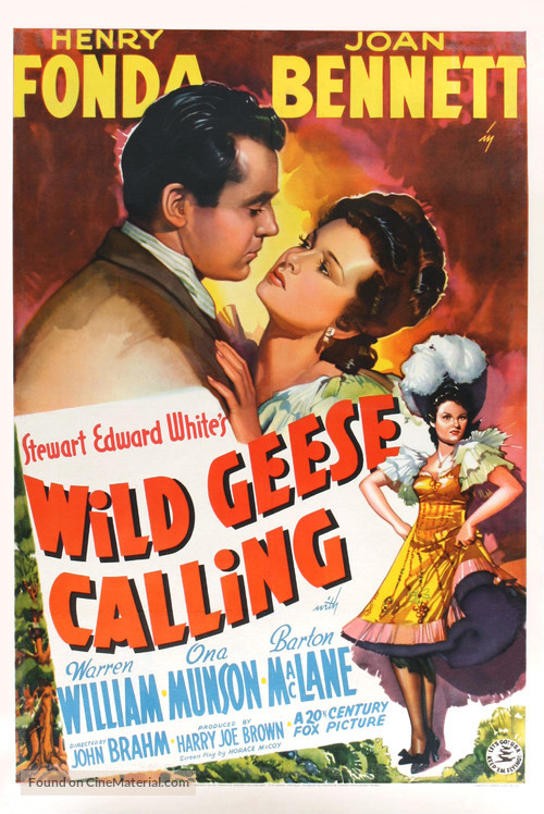 Wild Geese Calling - Movie Poster