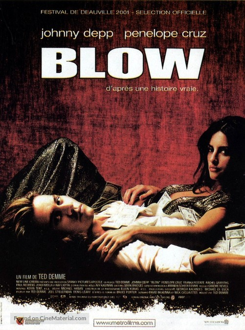 Blow - French Movie Poster