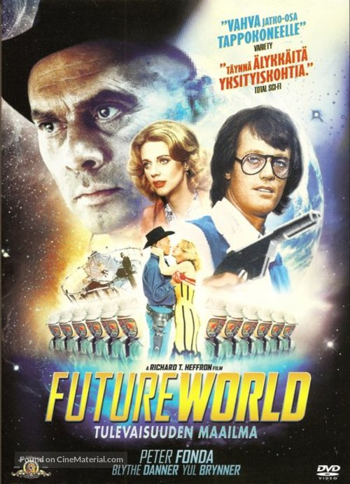 Futureworld - Finnish DVD movie cover