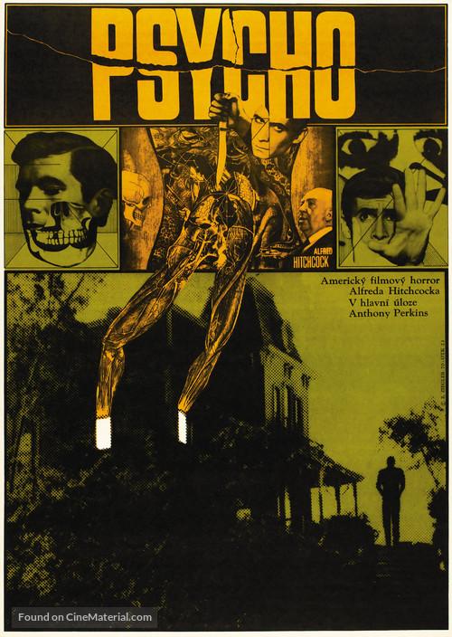Psycho - Czech Movie Poster