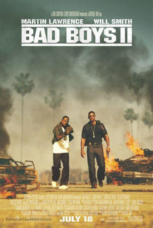 Bad Boys II - Movie Poster