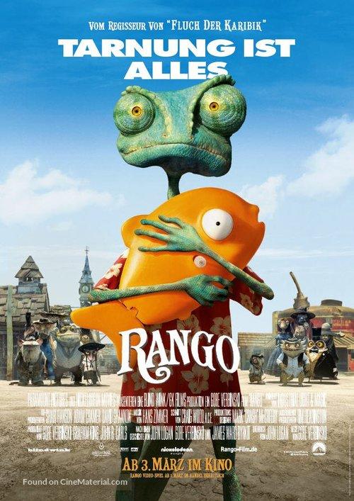 Rango - German Movie Poster
