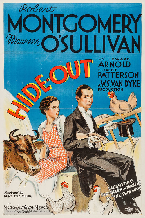 Hide-Out - Movie Poster