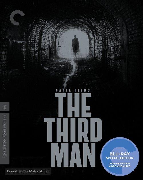 The Third Man - Blu-Ray movie cover