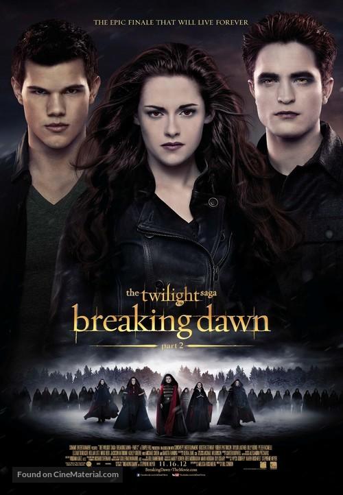 The Twilight Saga: Breaking Dawn - Part 2 - Canadian Movie Poster