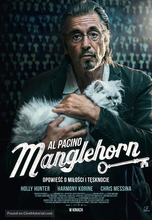 Manglehorn - Polish Movie Poster