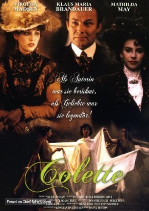 Becoming Colette - Swedish Movie Poster