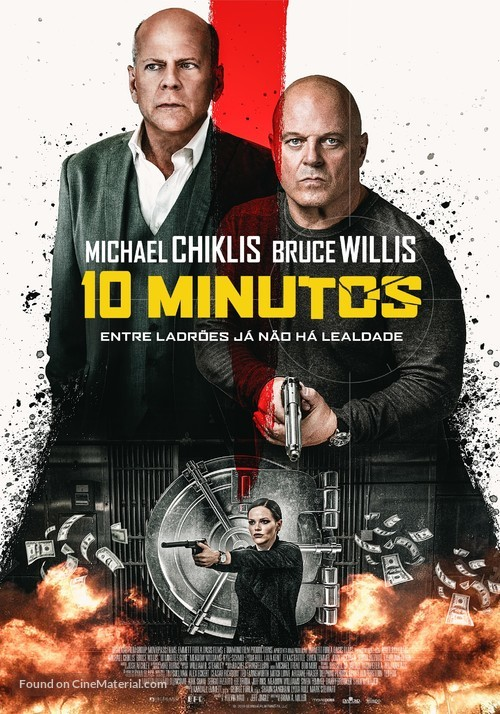 10 Minutes Gone - Portuguese Movie Poster