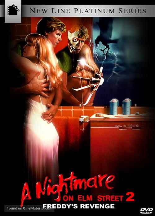 A Nightmare On Elm Street Part 2: Freddy's Revenge - DVD movie cover
