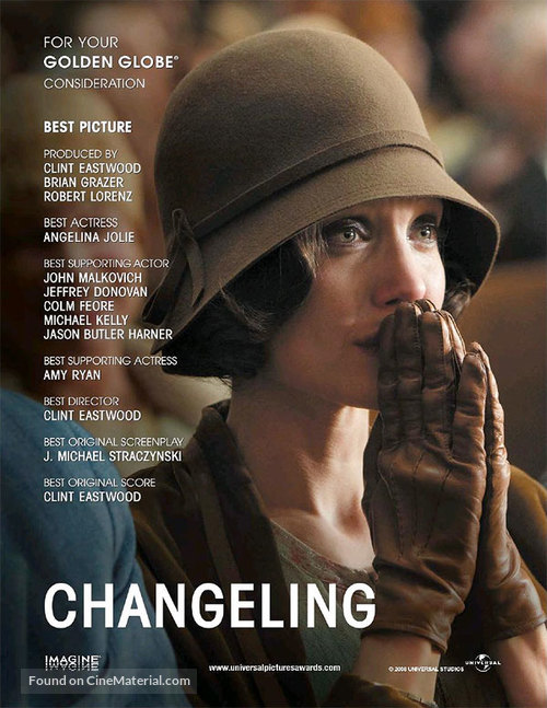 Changeling - Film info, movie trailer and TV schedule - TV ... |The Changeling 2008