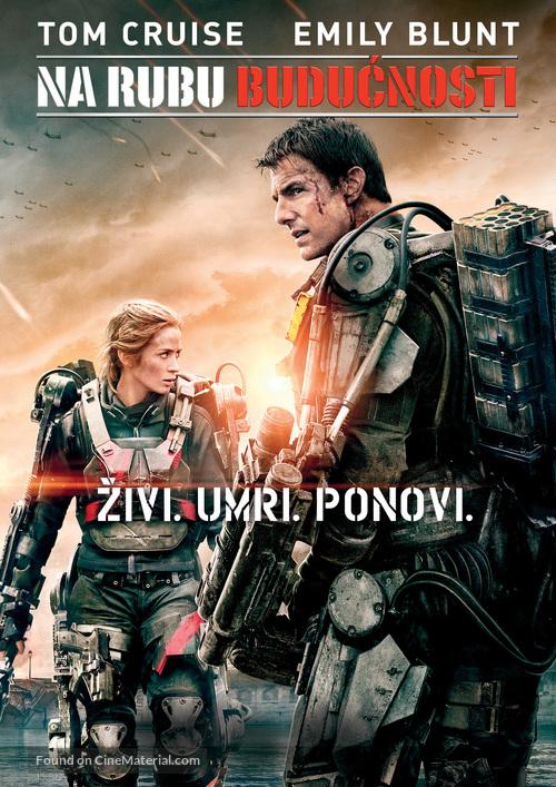 Edge Of Tomorrow 2014 Croatian Dvd Movie Cover