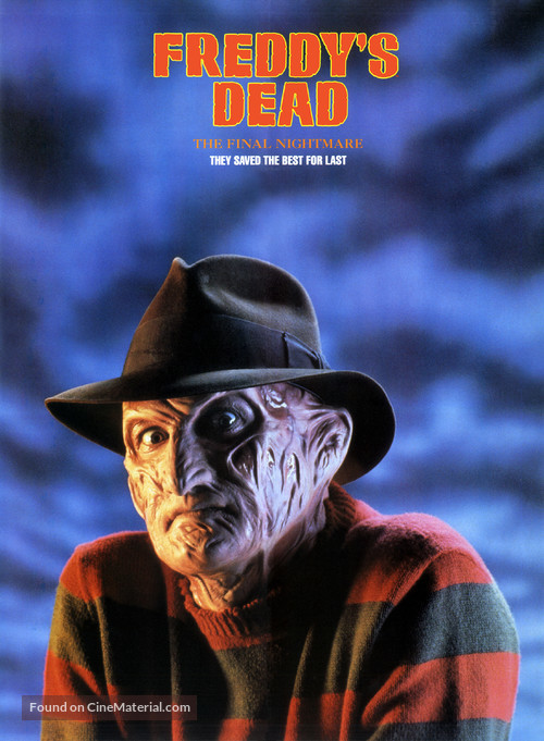 Freddy's Dead: The Final Nightmare - Movie Poster