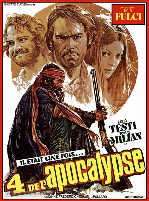Quattro dell'apocalisse, I - French Movie Poster