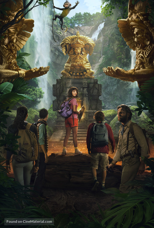Dora and the Lost City of Gold - Key art