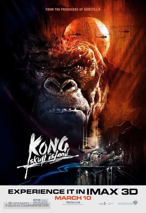 Kong: Skull Island - Movie Poster