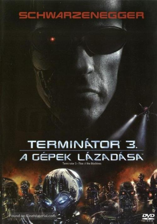 Terminator 3: Rise of the Machines - Hungarian Movie Cover