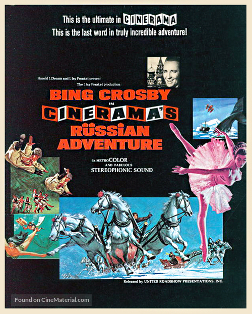 Cinerama's Russian Adventure - Movie Poster
