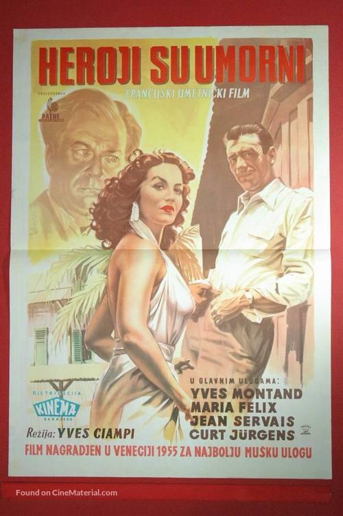 Les héros sont fatigués - Serbian Movie Poster