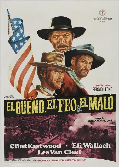 Il buono, il brutto, il cattivo - Spanish Movie Poster