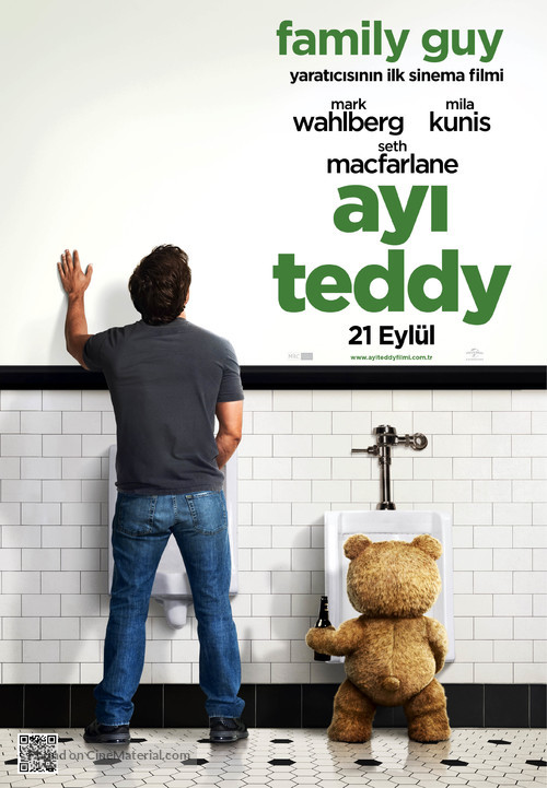 Ted - Turkish Movie Poster