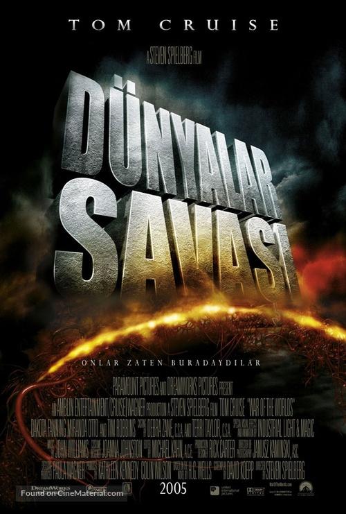War of the Worlds - Turkish Movie Poster