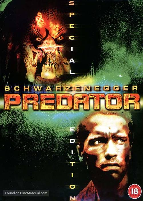 Predator - British DVD movie cover