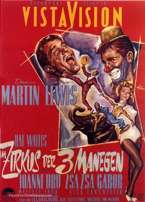 3 Ring Circus - German Movie Poster