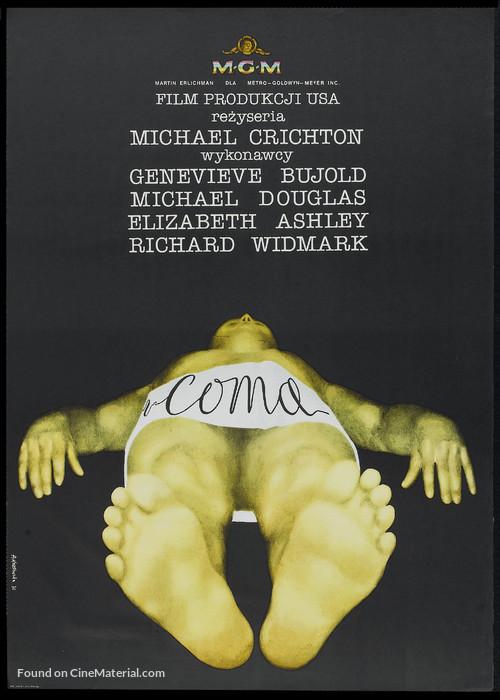Coma - Polish Movie Poster