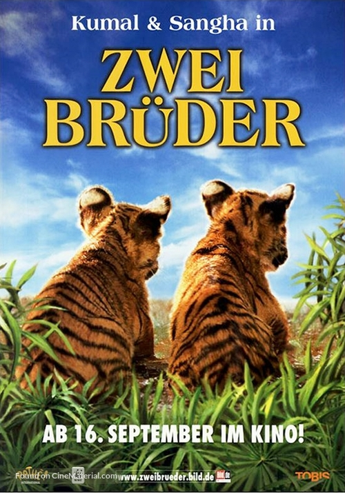 Two Brothers - German Movie Poster