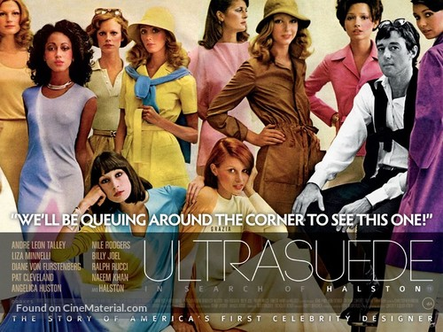 Ultrasuede: In Search of Halston - British Movie Poster