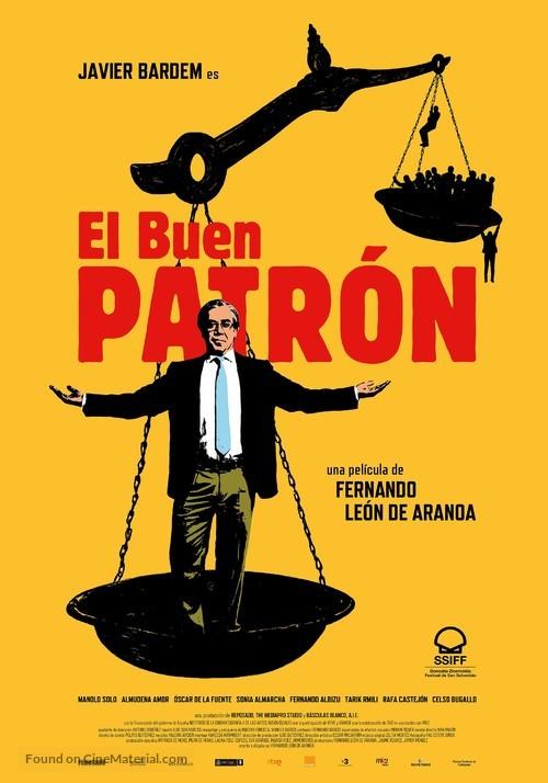 El buen patrón - Spanish Movie Poster