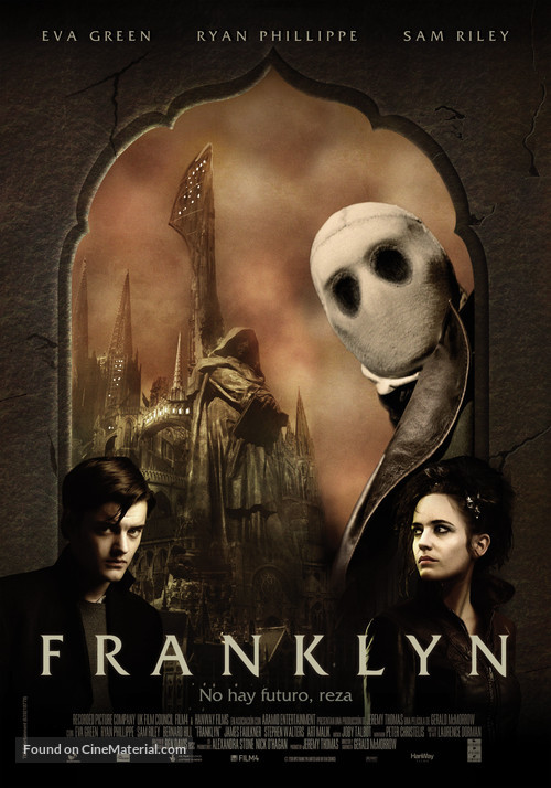 Franklyn - Spanish Movie Poster