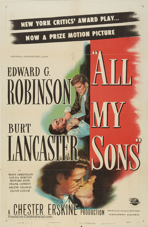All My Sons - Movie Poster