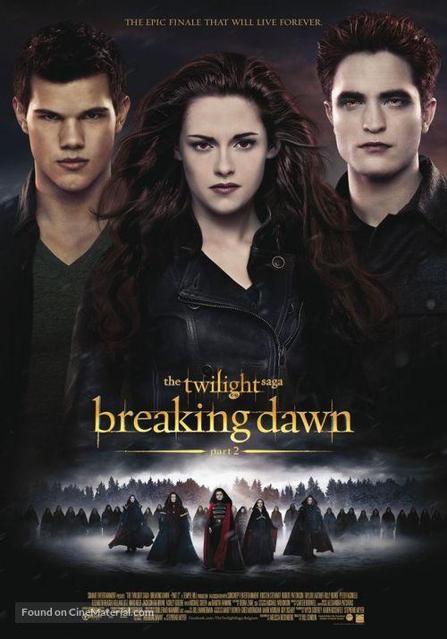 The Twilight Saga: Breaking Dawn - Part 2 - Belgian Movie Poster