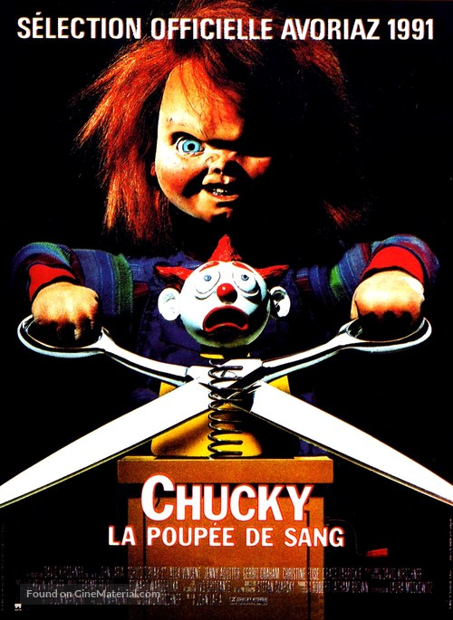 Child's Play 2 - French Movie Poster