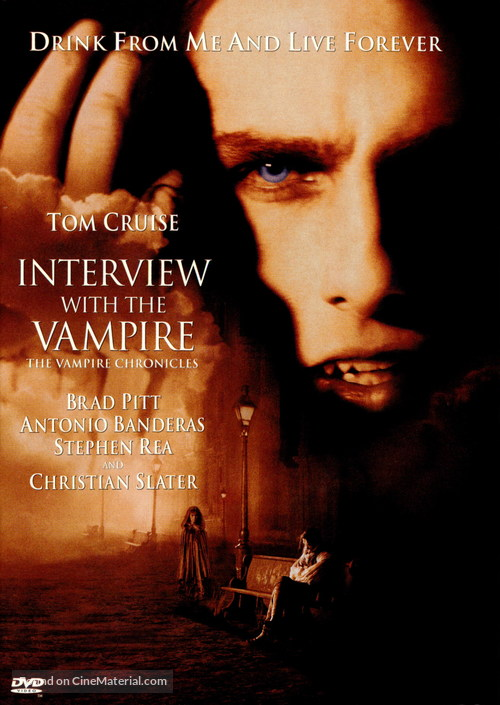 Interview With The Vampire - DVD movie cover