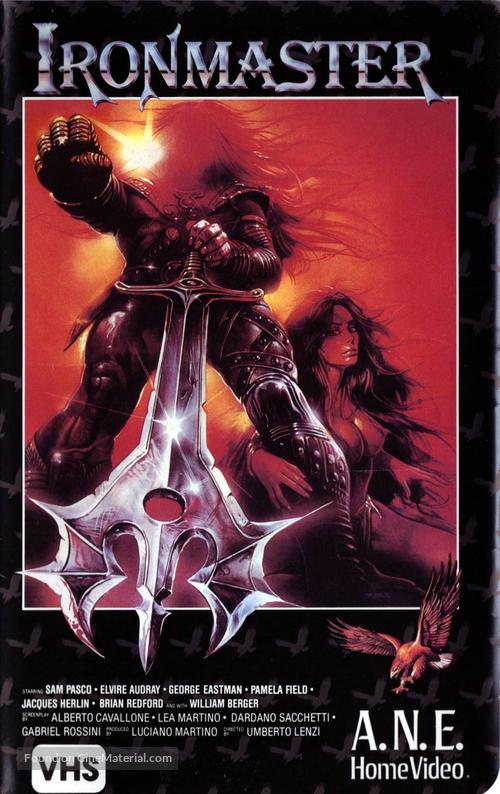 La guerra del ferro - Ironmaster - VHS movie cover