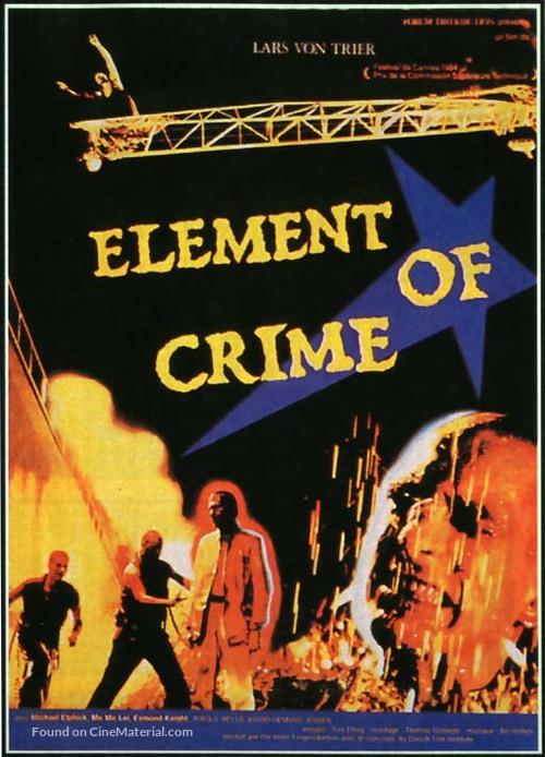 Forbrydelsens element - Movie Poster