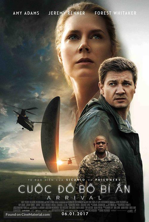 Arrival - Vietnamese Movie Poster