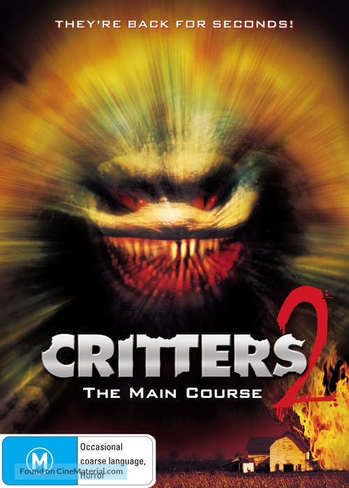 Critters 2: The Main Course - Australian Movie Cover