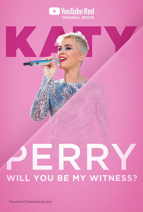 Katy Perry: Will You Be My Witness? - Movie Poster