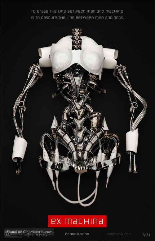 Ex Machina - Movie Poster