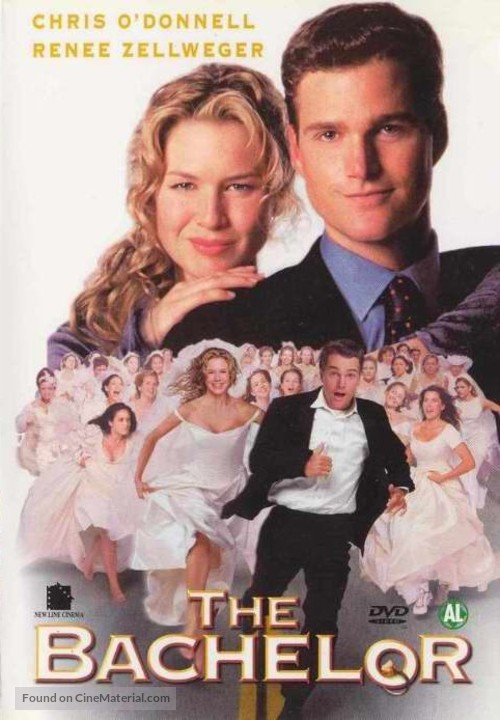The Bachelor - Dutch DVD movie cover